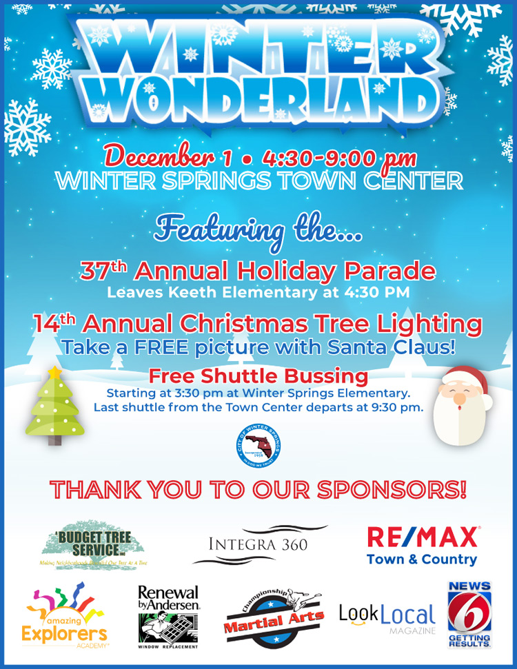 Join Us for the Winter Springs Winter Wonderland Parade! - RE/MAX